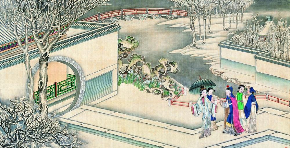 从古典名著绘画本中看古典园林艺术、庭院设计、家具软装及服饰设计_31078822_075341561089_2.jpg