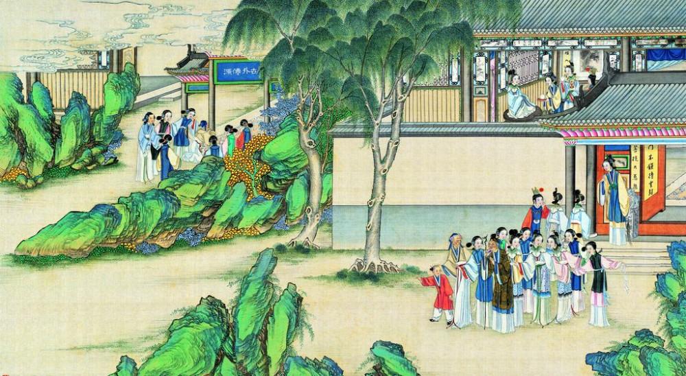 从古典名著绘画本中看古典园林艺术、庭院设计、家具软装及服饰设计_31078822_075736528089_2.jpg