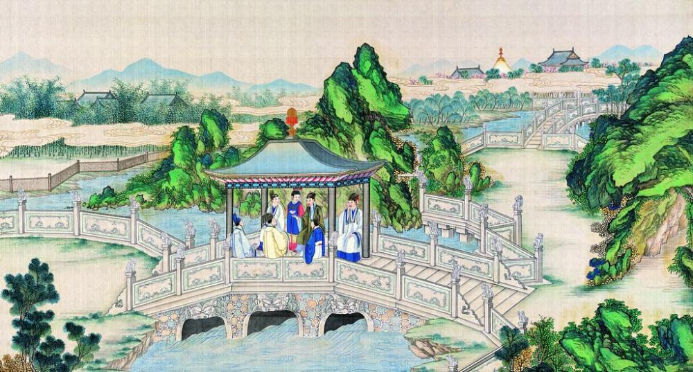 从古典名著绘画本中看古典园林艺术、庭院设计、家具软装及服饰设计_31078822_081224373089_2.jpg