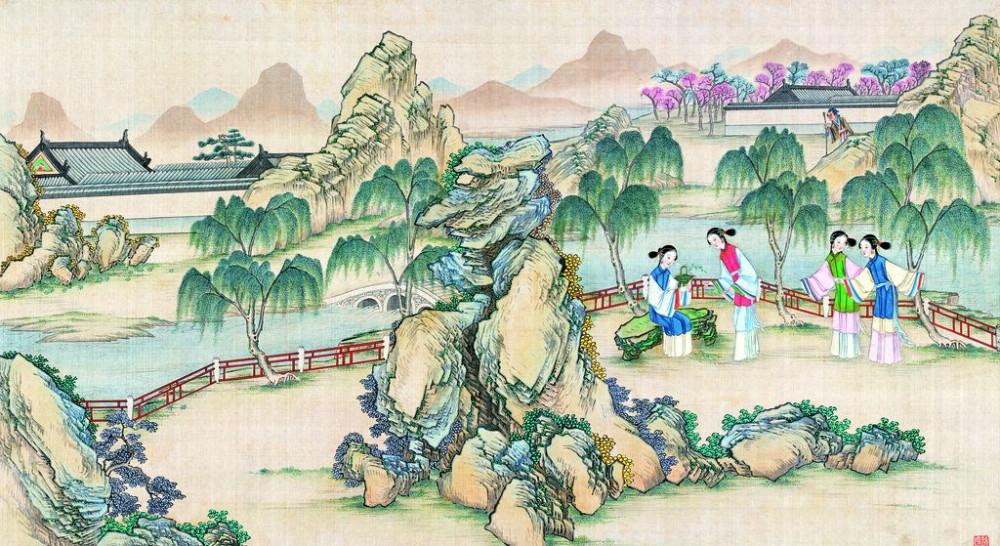 从古典名著绘画本中看古典园林艺术、庭院设计、家具软装及服饰设计_31078822_081910098087_2.jpg