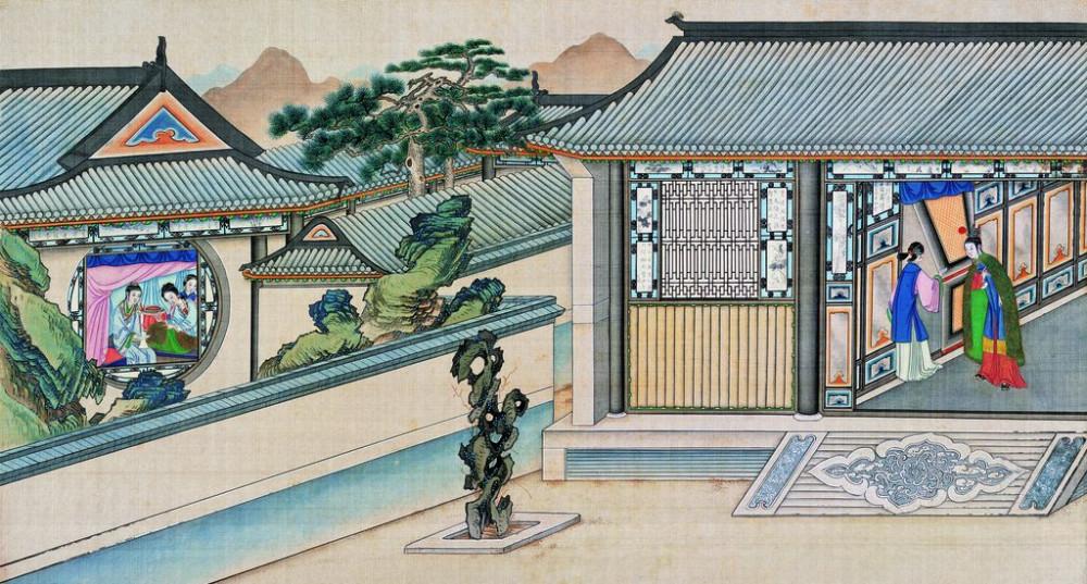从古典名著绘画本中看古典园林艺术、庭院设计、家具软装及服饰设计_31078822_082147315086_2.jpg