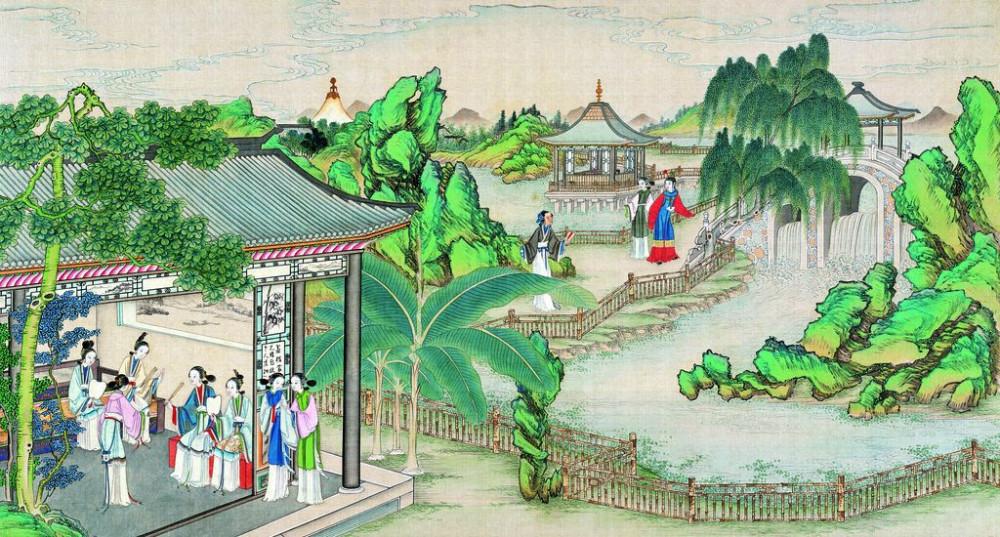 从古典名著绘画本中看古典园林艺术、庭院设计、家具软装及服饰设计_31078822_082431662081_2.jpg