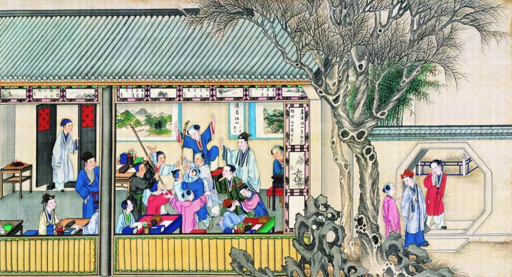 从古典名著绘画本中看古典园林艺术、庭院设计、家具软装及服饰设计_31078822_084025790089_2.jpg