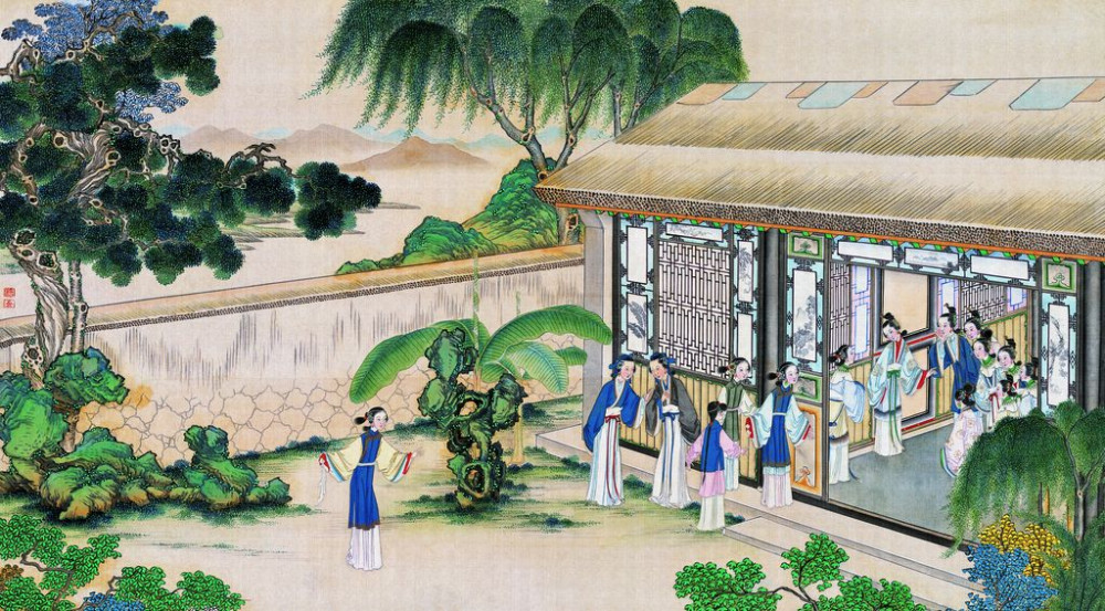 从古典名著绘画本中看古典园林艺术、庭院设计、家具软装及服饰设计_31078822_084807504087_2.jpg