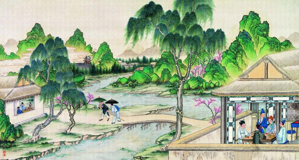 从古典名著绘画本中看古典园林艺术、庭院设计、家具软装及服饰设计_31078822_085615598087_2.jpg