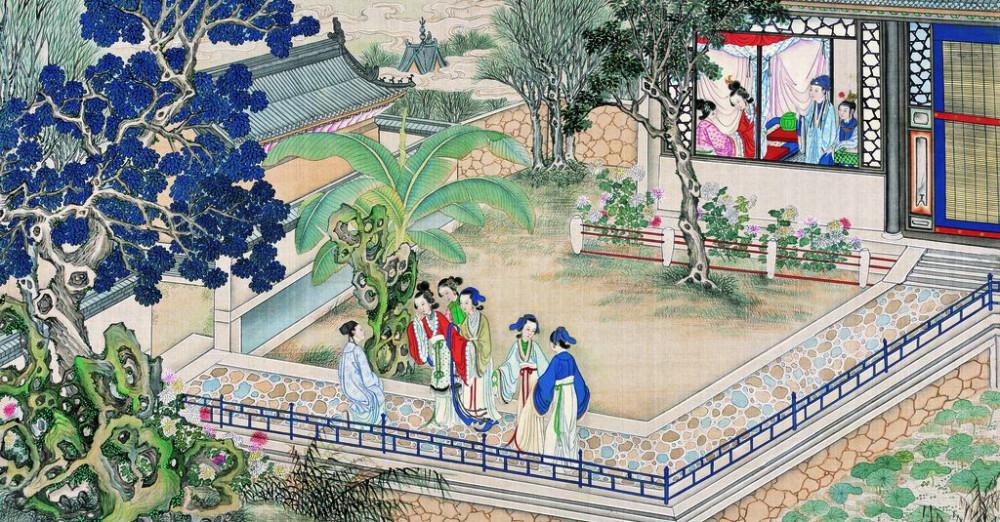 从古典名著绘画本中看古典园林艺术、庭院设计、家具软装及服饰设计_31078822_090708896086_2.jpg