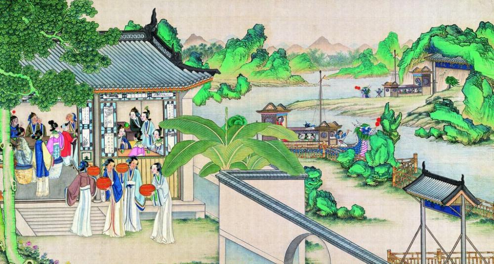 从古典名著绘画本中看古典园林艺术、庭院设计、家具软装及服饰设计_31078822_090955832086_2.jpg