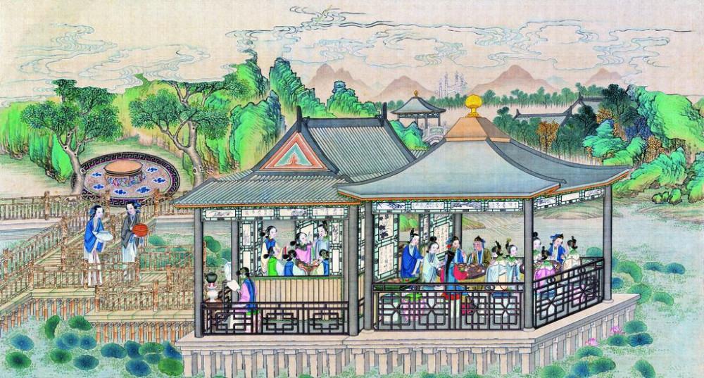 从古典名著绘画本中看古典园林艺术、庭院设计、家具软装及服饰设计_31078822_092057788086_2.jpg