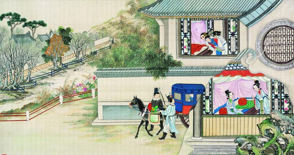 从古典名著绘画本中看古典园林艺术、庭院设计、家具软装及服饰设计_31078822_094136539086_2.jpg