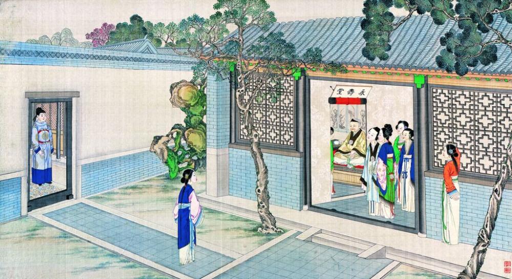 从古典名著绘画本中看古典园林艺术、庭院设计、家具软装及服饰设计_31078822_094503708083_2.jpg
