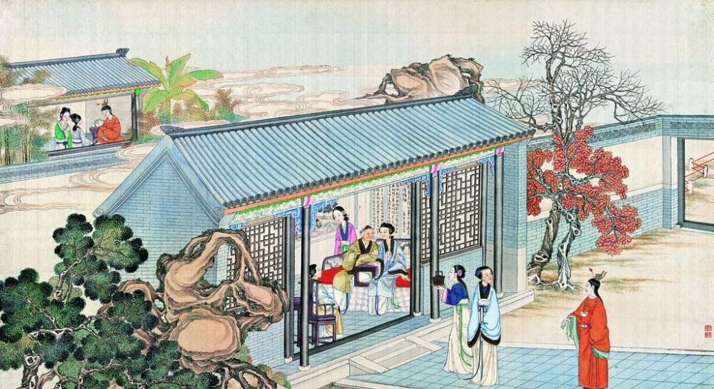 从古典名著绘画本中看古典园林艺术、庭院设计、家具软装及服饰设计_31078822_095320568084_2.jpg