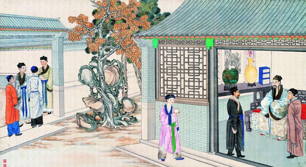 从古典名著绘画本中看古典园林艺术、庭院设计、家具软装及服饰设计_31078822_102341560087_2.jpg