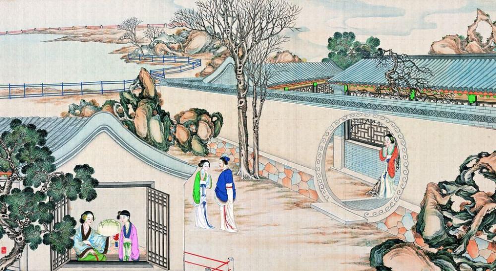 从古典名著绘画本中看古典园林艺术、庭院设计、家具软装及服饰设计_31078822_103049749081_2.jpg