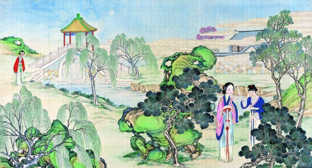 从古典名著绘画本中看古典园林艺术、庭院设计、家具软装及服饰设计_31078822_105057332082_2.jpg