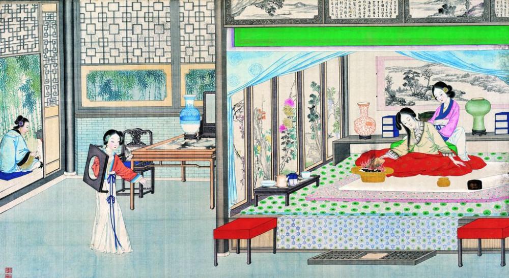 从古典名著绘画本中看古典园林艺术、庭院设计、家具软装及服饰设计_31078822_105739719086_2.jpg
