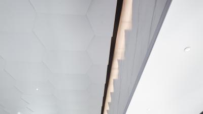 ENJOYDESIGN | 西宁万科城1700㎡售楼处丨简介+施工图+机电图+官方摄影
