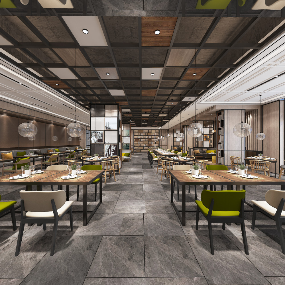 亚朵酒店|CAD平面图+公区+客房+效果图