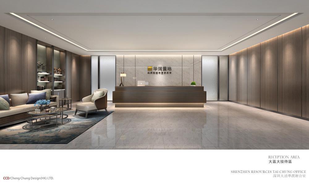CCD-深圳大涌华润办公室CAD施工图+效果图物料(不得用於商业用途或向外传播,并请在下载后24小时内删除)