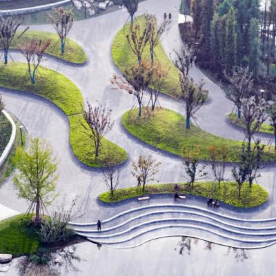 四川南充南部水城禹迹岛公园(2021)(毕路德设计)设计