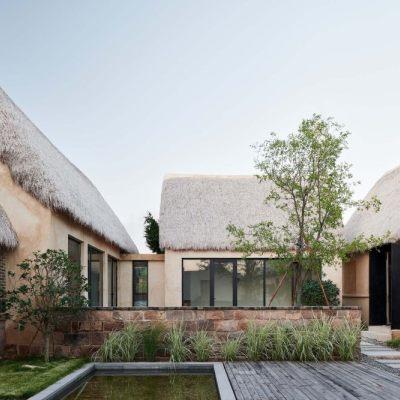 海草房村落的保护与再生,海草湾养生度假村改造设计(2019)Greyspace Architecture Design Studio