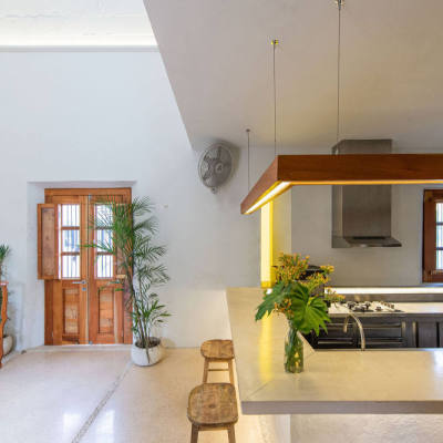 墨西哥半圆顶改造餐厅Al Modar|2021|TACO taller de arquitectura contextual