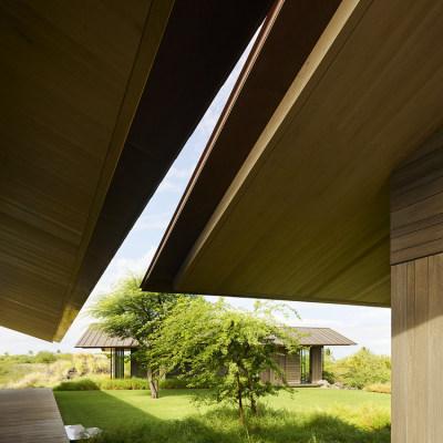 夏威夷大岛Hale Mau'u度假别墅|2021|Walker Warner Architects