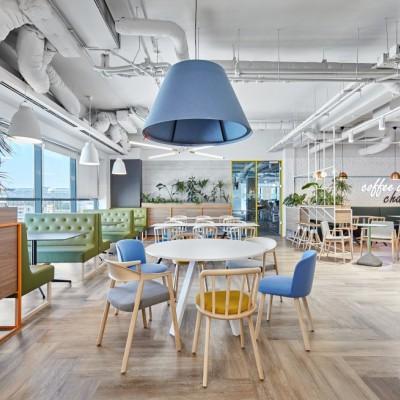 布加勒斯特埃森哲办公室第二阶段设计