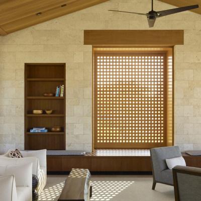 美国极简主义Huinawai度假别墅/Walker Warner Architects