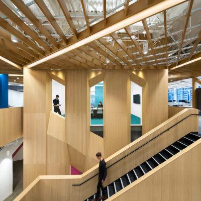 微软加拿大卓越中心 | Clive Wilkinson Architects