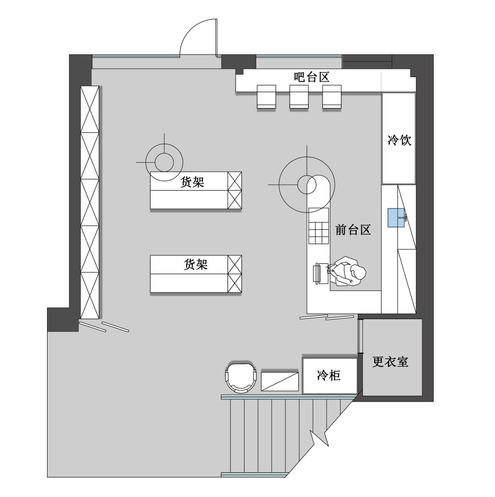 一楼平面设计图