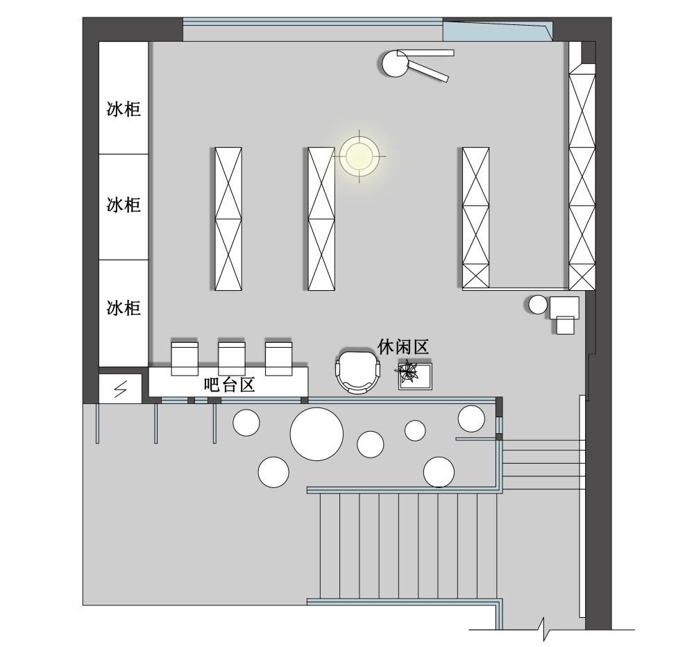 二层平面设计图