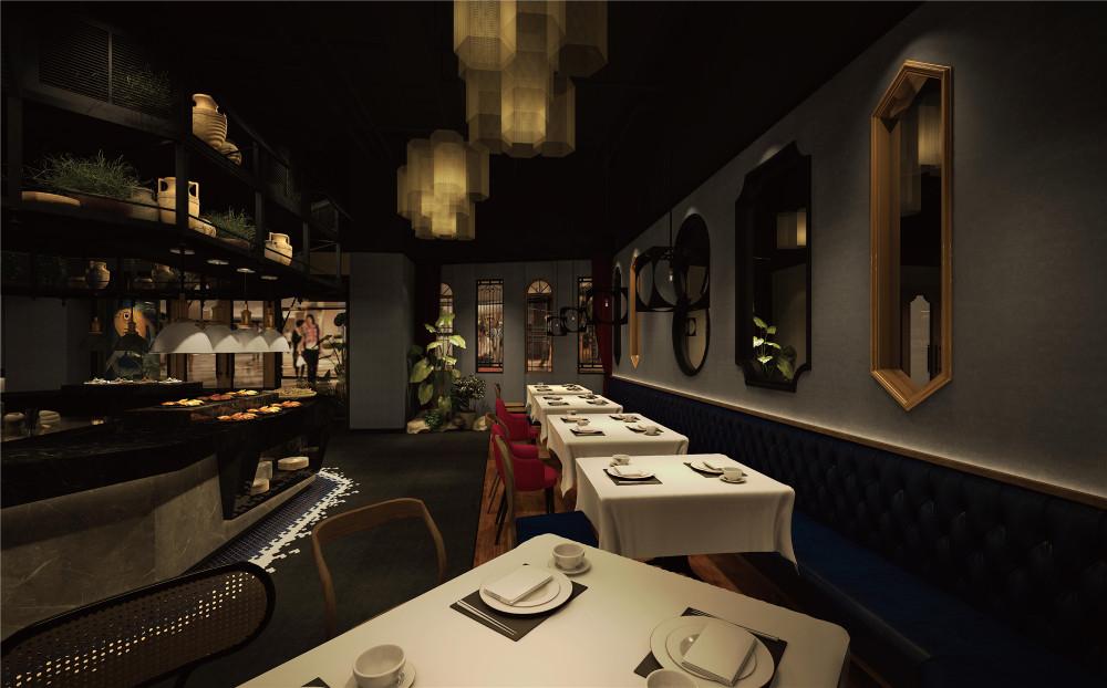 杭州品尚设计︱常熟德雷克海鲜自助餐厅