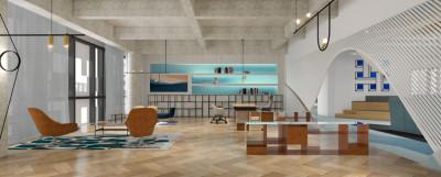 马克华菲办公楼 | 施工图+设计说明+效果图 |
