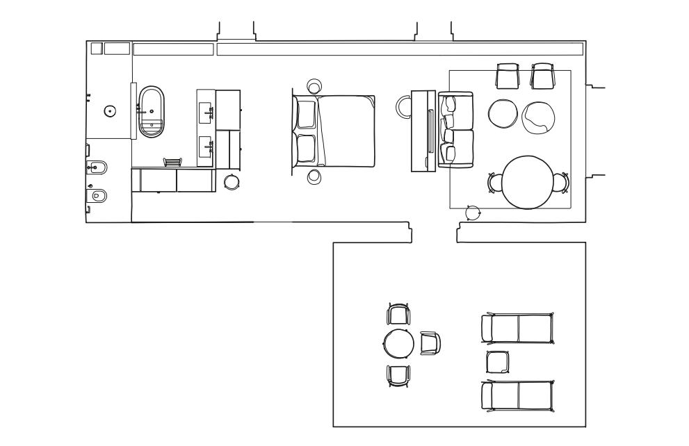 意大利di Langa民宿(2021.6开业)Parisotto+Formenton Architetti_suitealtalanga-floorplan-1.png