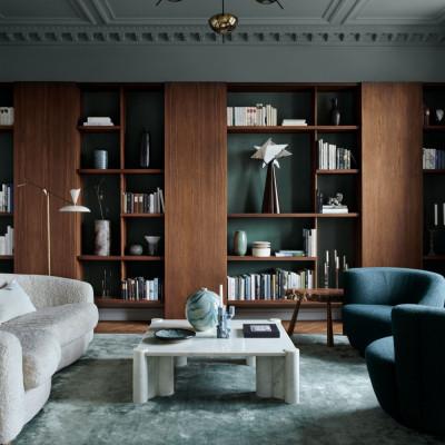 纳维亚极简主义的斯德哥尔摩公寓|2021|Studio Lawahl