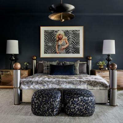 美国超级巨星Miley Cyrus的波西米亚风格住宅|Tish Cyrus