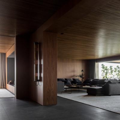 巴西极简主义Flat#12别墅|2018|Studio MK27