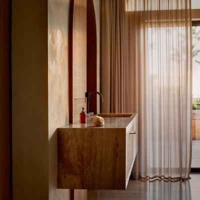 法国里维埃拉的野兽派风格住宅|Caprini&Pellerin Architectes