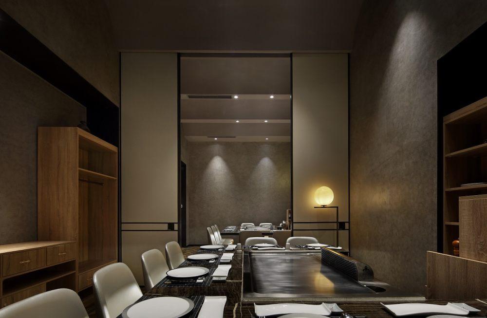雅玛花式铁板烧餐厅设计,探味法国塞纳河左岸精致生活_17.JPG