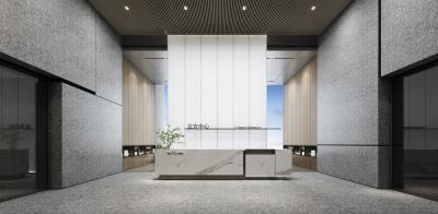 恒荣立方中心办公区 | CAD平立面+设计方案+物料 |