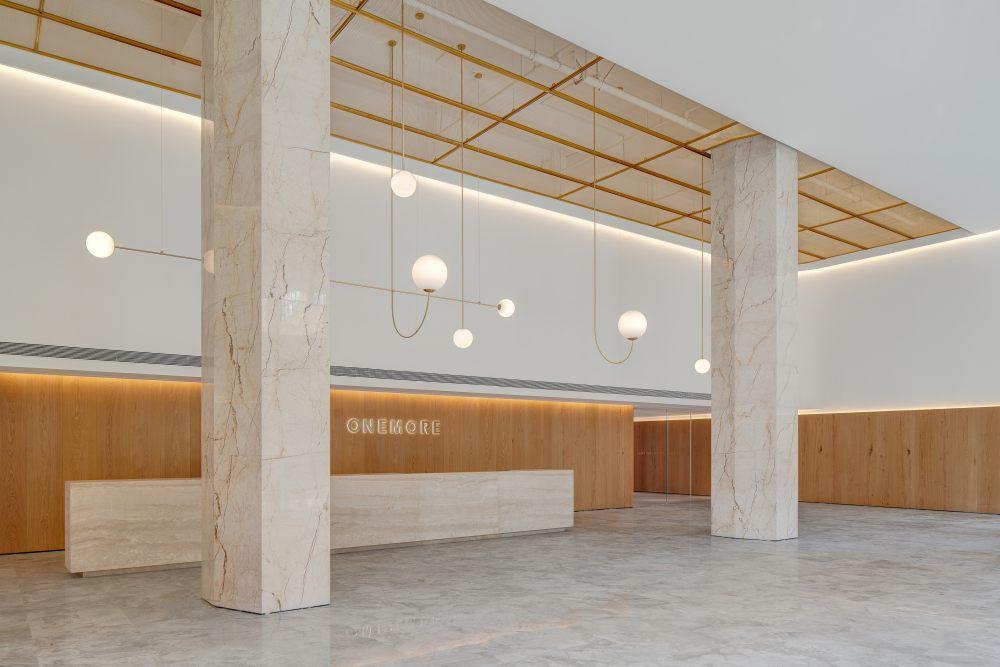 中国宁波 | ONEMORE 办公楼 | 2021 | 琢磨设计_ONEMORE办公大厅06.jpg