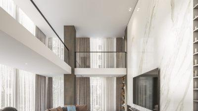 梁志天设计 | 上海李府别墅 | CAD平立面+效果图 |