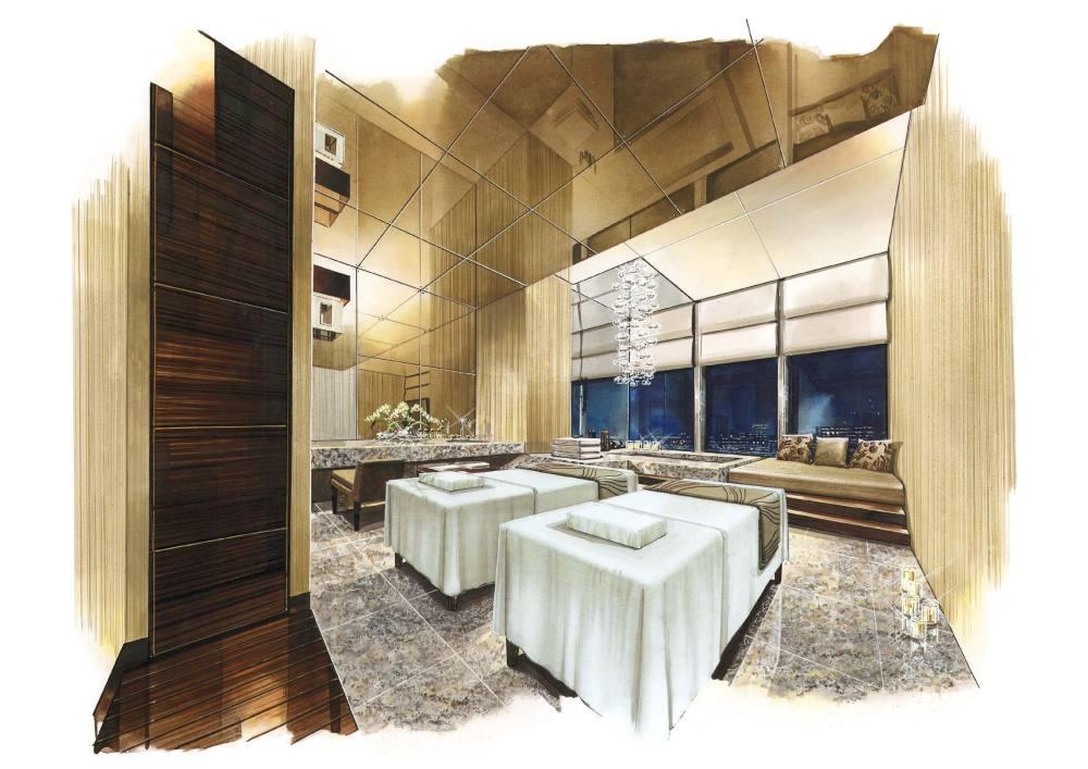 Wilson&Associates--上海浦东四季酒店全套施工图2008_06.09.19 Spa VIP Treatment Room.jpg